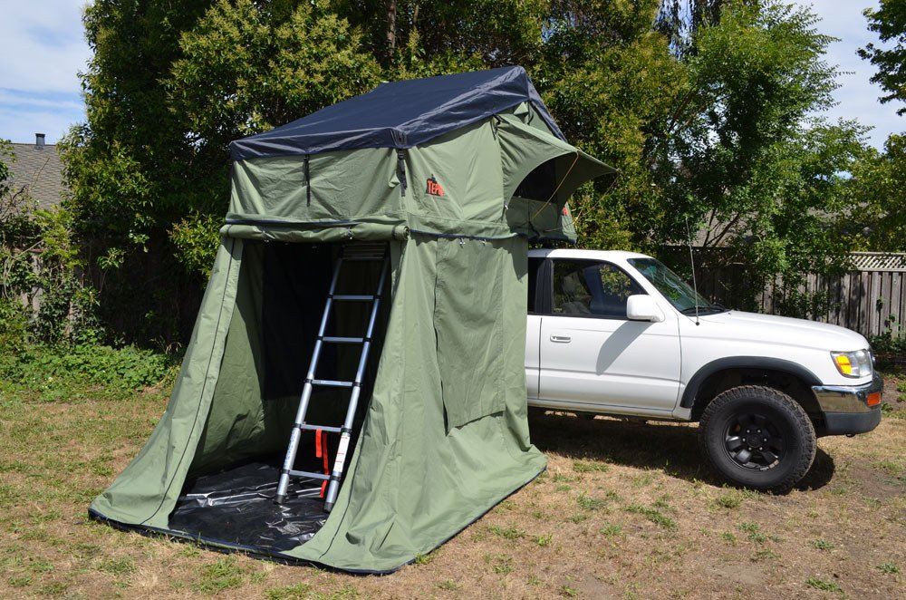 Tent, rooftop tent, camping, overlanding, adventure, pfadventure, pf, camp, camp gear, tents, explore, off-road, hiking , trails, trail, outdoors, vehicle tents, tacoma, tundra, jeep, toyota, gmc, dodge, ford, chevy, chevrolet, f150, silverado, Colorado, 4 runner, Raptor, Ranger, Rebel, Tepui, Tepui Tent