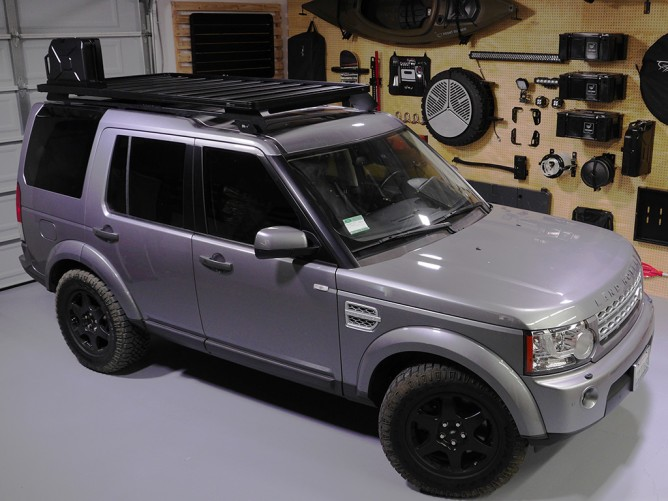 Land Rover Discovery Lr3 Lr4 Slimline Ii Roof Rack Kit By Front Runner Pf Adventure