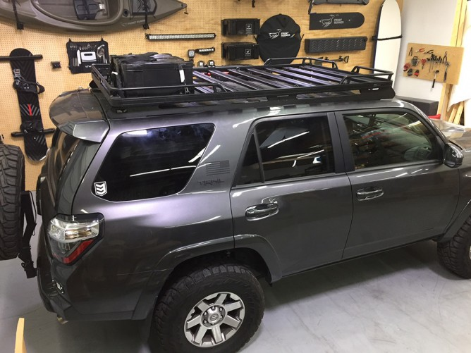 Jeep Renegade Roof >> Toyota 4Runner (2010-Current) Slimline II Roof Rack Kit - by Front Runner - PF Adventure
