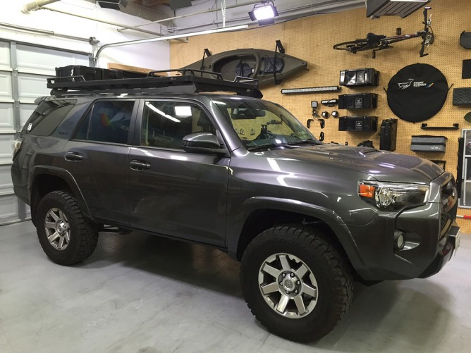 Toyota 4runner 2010 Current Slimline Ii Roof Rack Kit