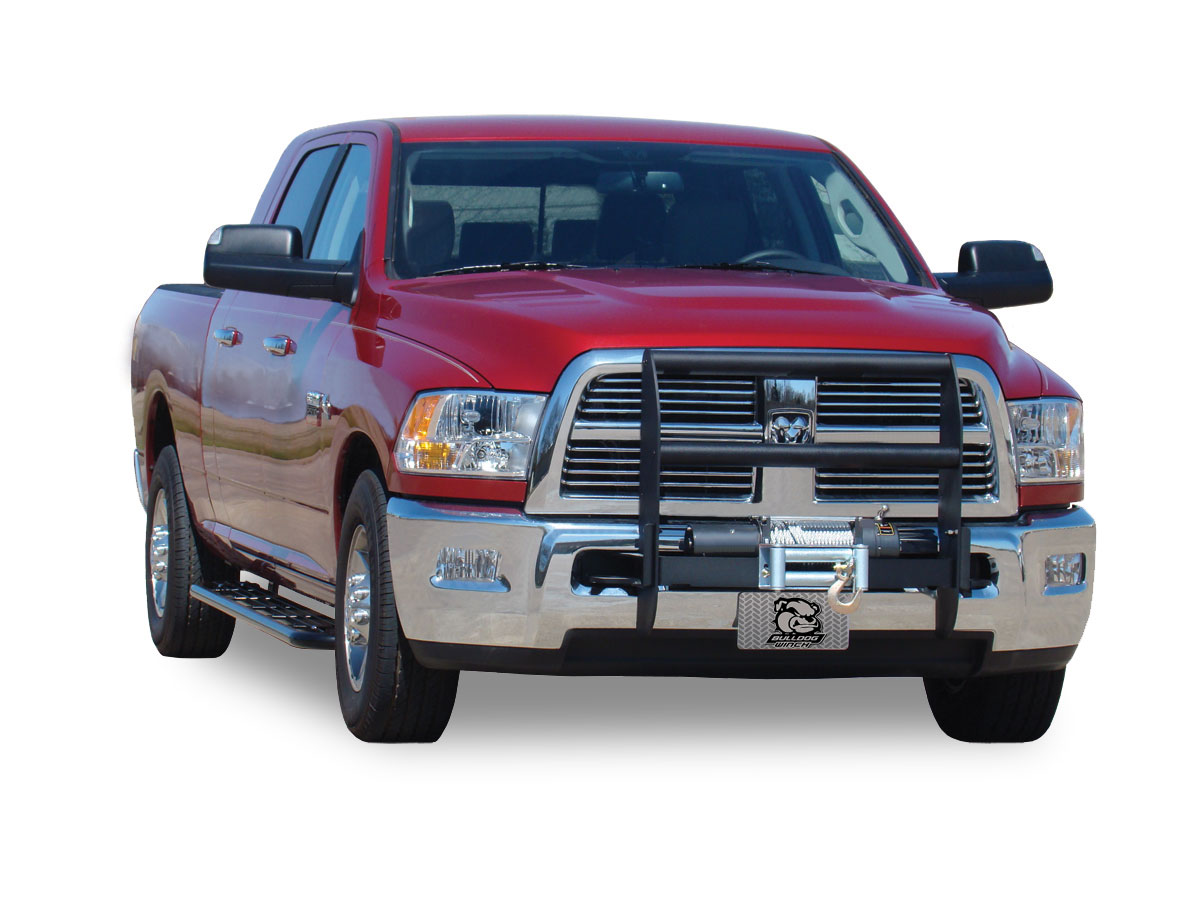 Grille Guard, Black 2010-11 Ram 2500/3500