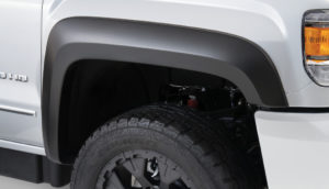 Bushwacker - 40966-02 - FF EXTEND-A-FENDER STYLE 4PC 2015-2018 GMC SIERRA 2500 HD, 3500 78.8/97.6in BED, FACTORY MUDFLAPS MUST BE REMOVED BLACK