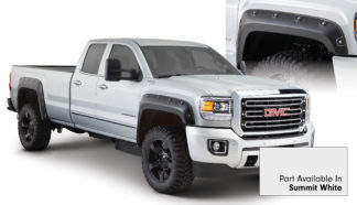 Bushwacker - 40968-14 - GMC Boss Pocket Style Fender Flare - Set of 4 - Summit White