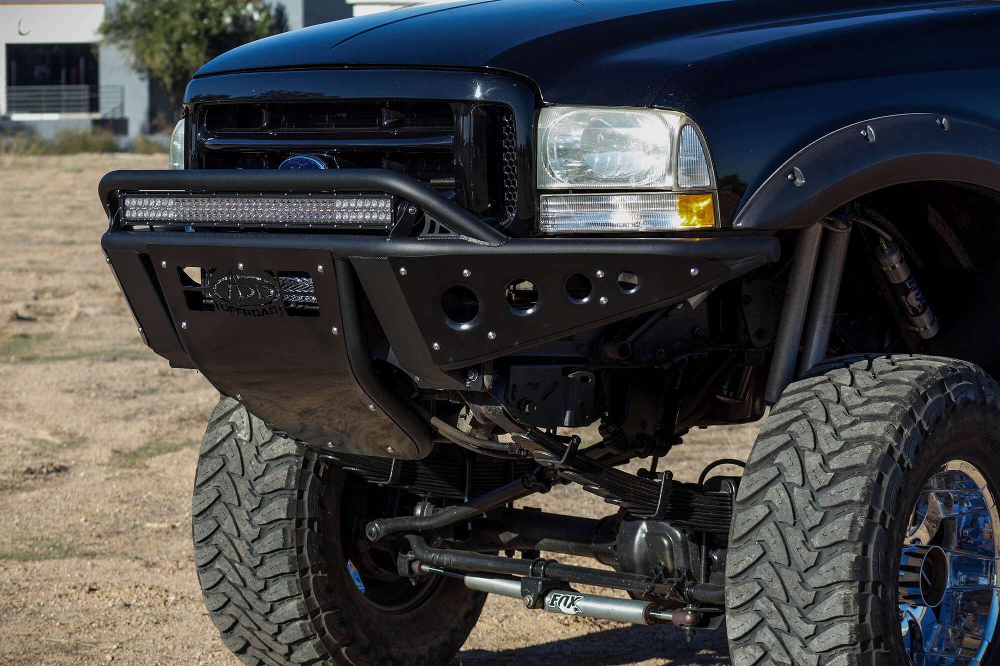 1999 2007 ford f250 f350 standard front bumper with stealth 1999 2007 ford f250 f350 standard front bumper with stealth panels and 40 light aloadofball Choice Image