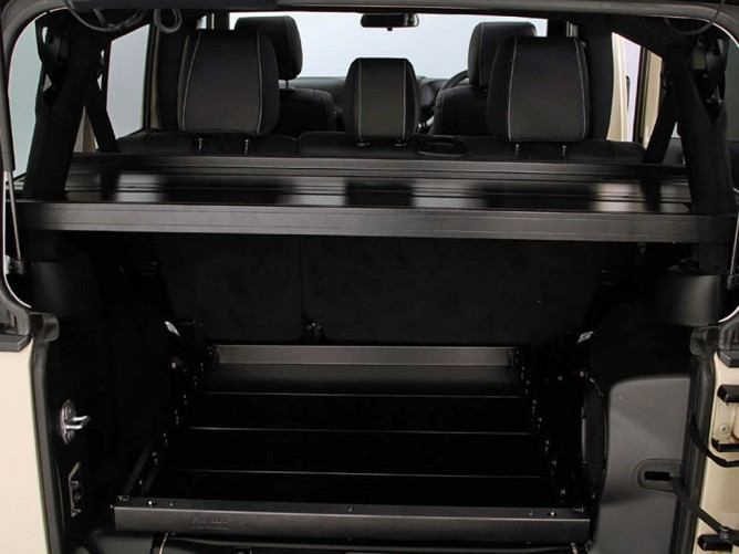 Jeep Wrangler Jku 4 Door Cargo Storage Interior Rack By