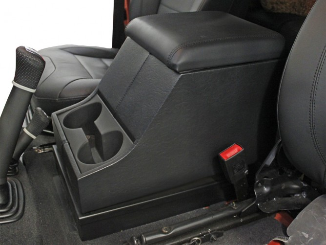 Land Rover Defender Under Console Safe By Front Runner