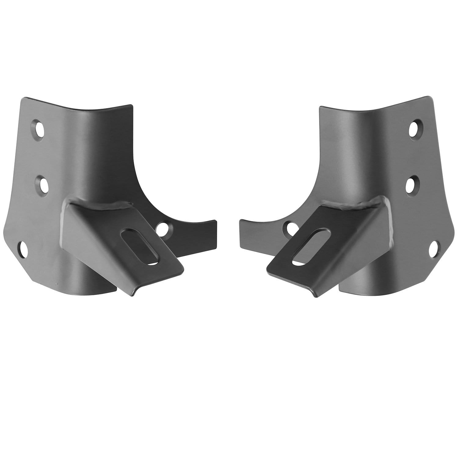 Smittybilt 7608 Windshield Hinge Light Bracket for Jeep TJ// LJ Pair
