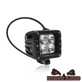 LED Light Pods 2x2 Flood Pair Elite KOR