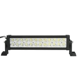 13 Inch LED Light Bar Dual Row 24 LEDS Spot Pattern Lifetime LED Lights