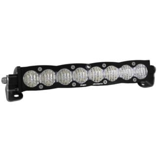 10 Inch LED Light Bar Driving Combo Amber Lens Pattern S8 Series Baja Designs